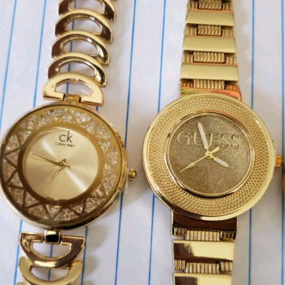 stainless steel Jewelry - Watches stainless steel color gold